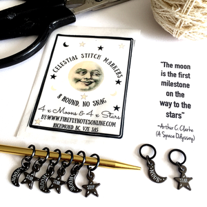 *NEW* Celestial stitch marker pack