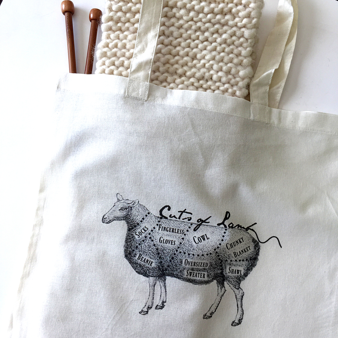 Cuts of lamb project bag