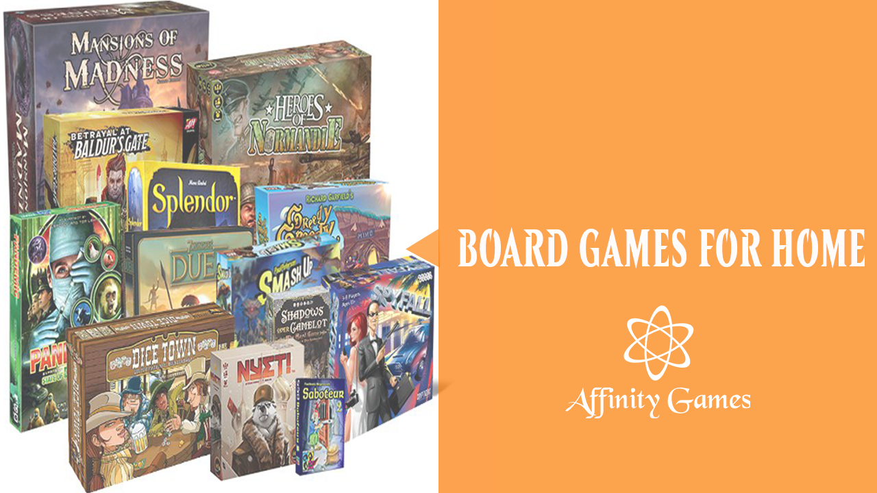 Affinity Games - Getting Your Board Game On!