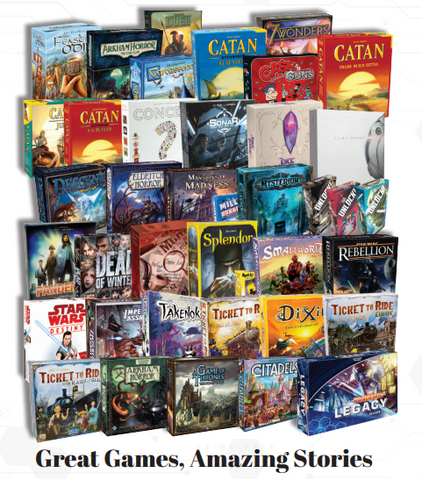 Try our Top 40 Board Games!
