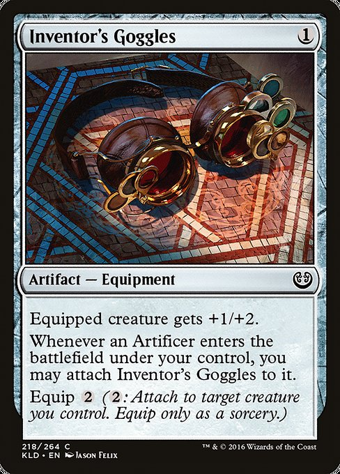 Inventor's Goggles [Kaladesh] | Affinity Games
