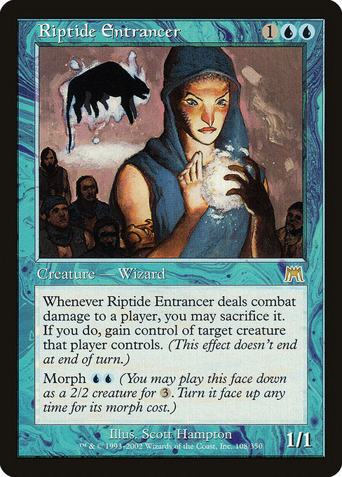 Riptide Entrancer [Onslaught] | Affinity Games