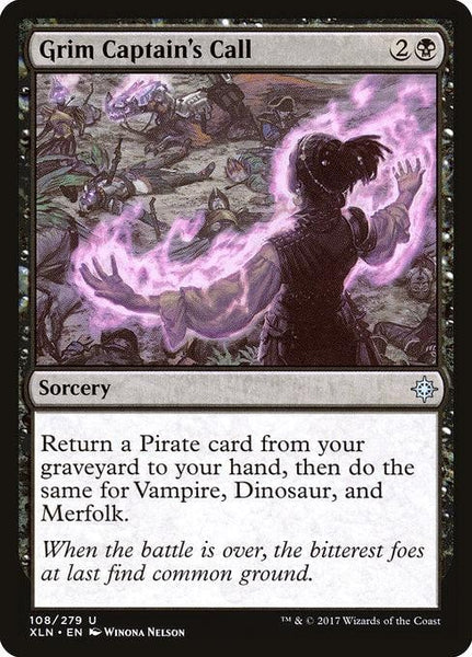 Grim Captain's Call [Ixalan]