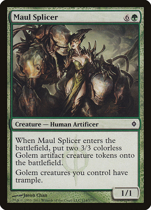Maul Splicer [New Phyrexia] | Affinity Games