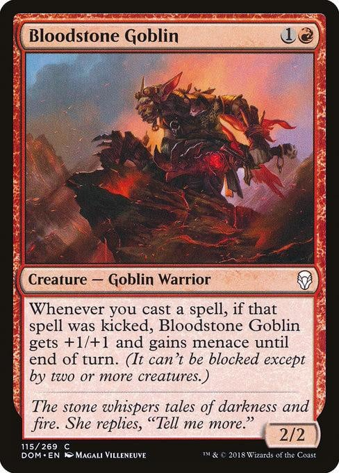 Bloodstone Goblin [Dominaria] | Affinity Games