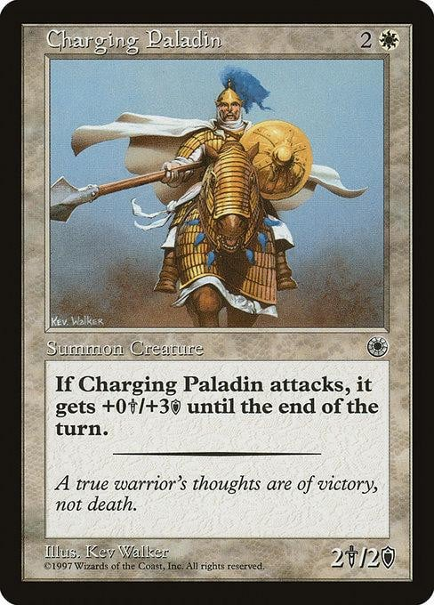 Charging Paladin [Portal] | Affinity Games