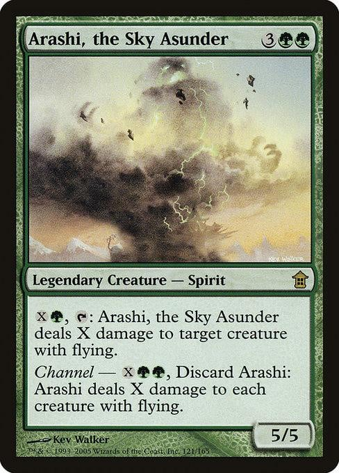 Arashi, the Sky Asunder [Saviors of Kamigawa] | Affinity Games