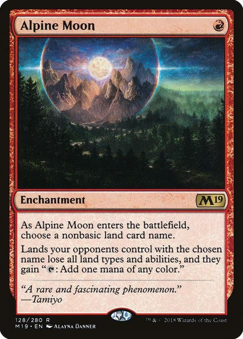 Alpine Moon [Core Set 2019]