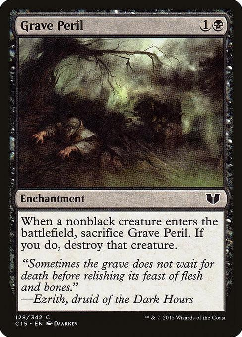 Grave Peril [Commander 2015] | Affinity Games