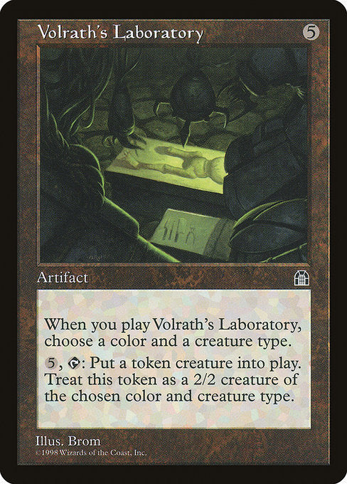 Volrath's Laboratory [Stronghold] | Affinity Games