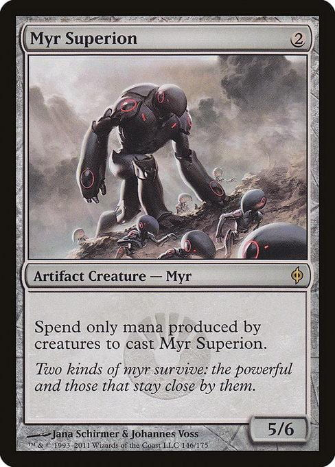 Myr Superion [New Phyrexia] | Affinity Games