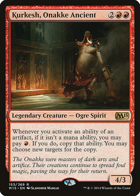 Kurkesh, Onakke Ancient [Magic 2015] | Affinity Games