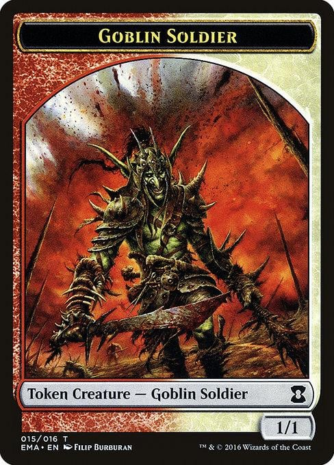 Goblin Soldier [Eternal Masters Tokens]