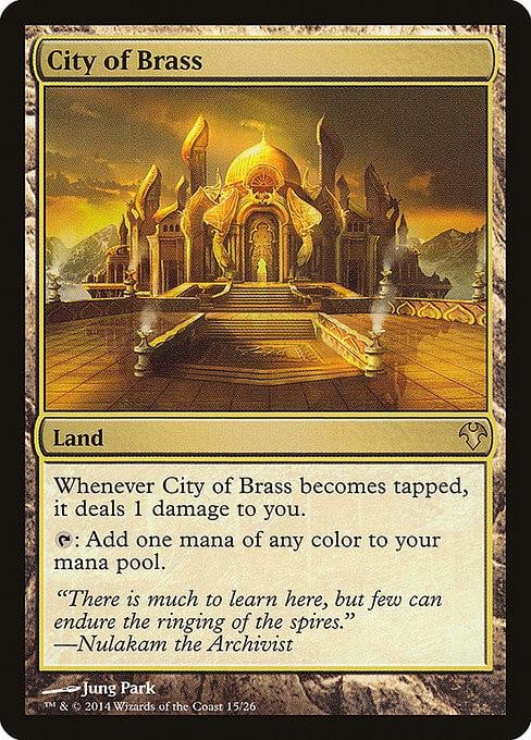 City of Brass [Modern Event Deck 2014] | Affinity Games