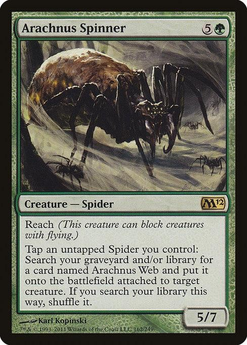 Arachnus Spinner [Magic 2012] | Affinity Games
