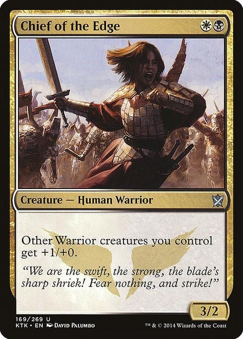 Chief of the Edge [Khans of Tarkir]
