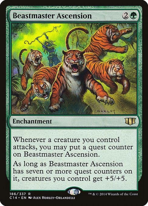 Beastmaster Ascension [Commander 2014] | Affinity Games