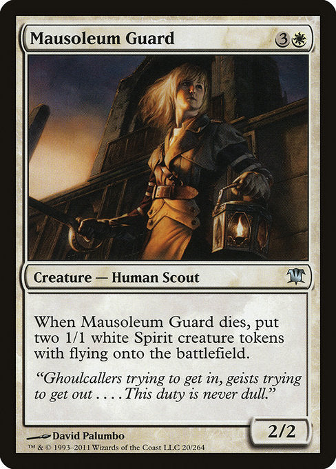 Mausoleum Guard [Innistrad] | Affinity Games