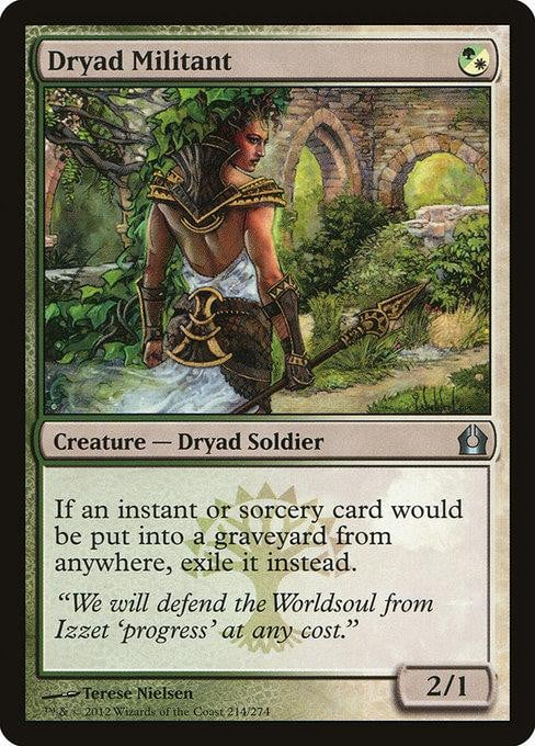 Dryad Militant [Return to Ravnica] | Affinity Games