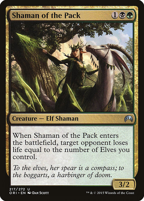 Shaman of the Pack [Magic Origins]