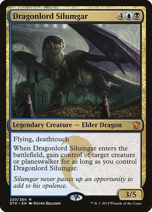 Dragonlord Silumgar [Dragons of Tarkir] | Affinity Games