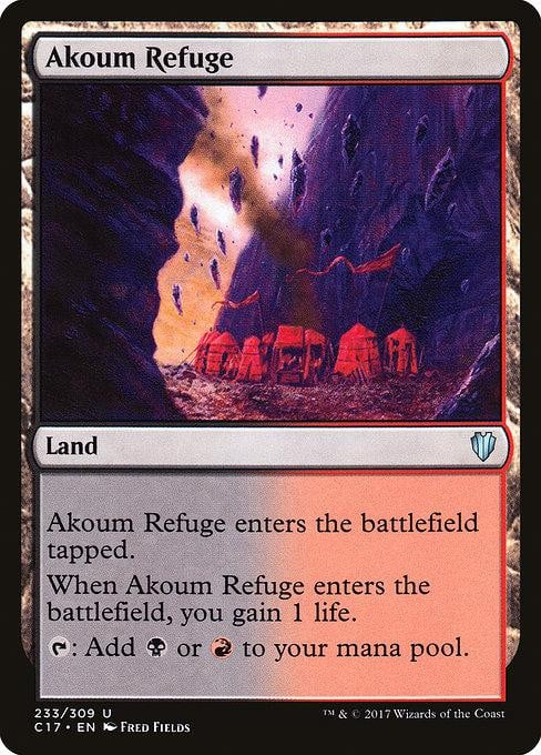 Akoum Refuge [Commander 2017] | Affinity Games