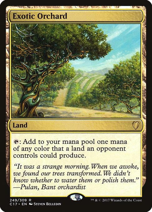 Exotic Orchard [Commander 2017] | Affinity Games