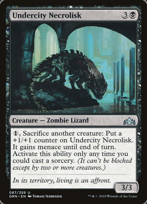 Undercity Necrolisk [Guilds of Ravnica] | Affinity Games