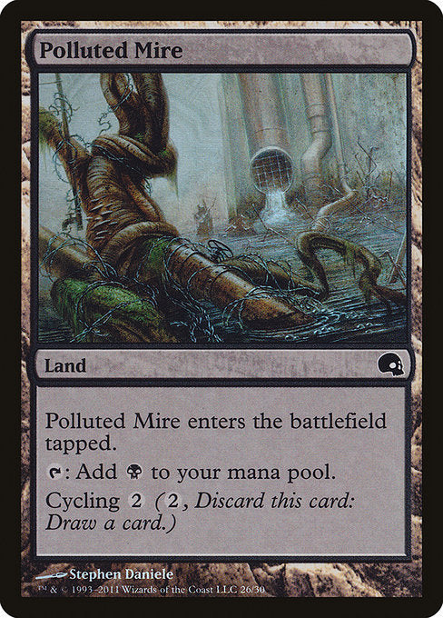 Polluted Mire [Premium Deck Series: Graveborn] | Affinity Games