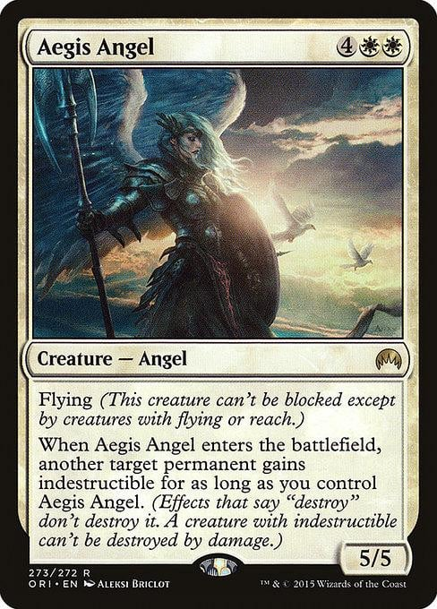 Aegis Angel [Magic Origins] | Affinity Games