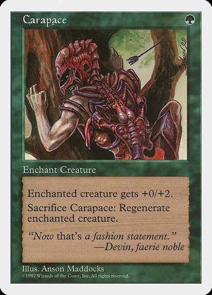 Carapace [Fifth Edition]