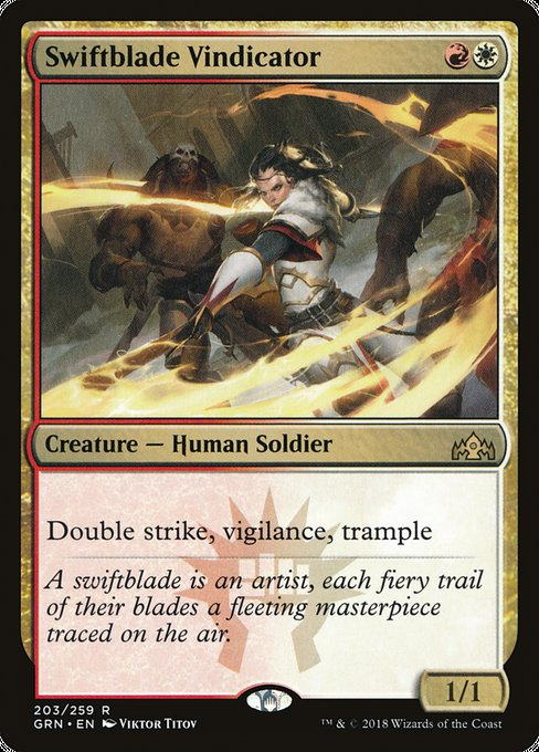 Swiftblade Vindicator [Guilds of Ravnica]