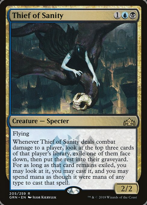 Thief of Sanity [Guilds of Ravnica]