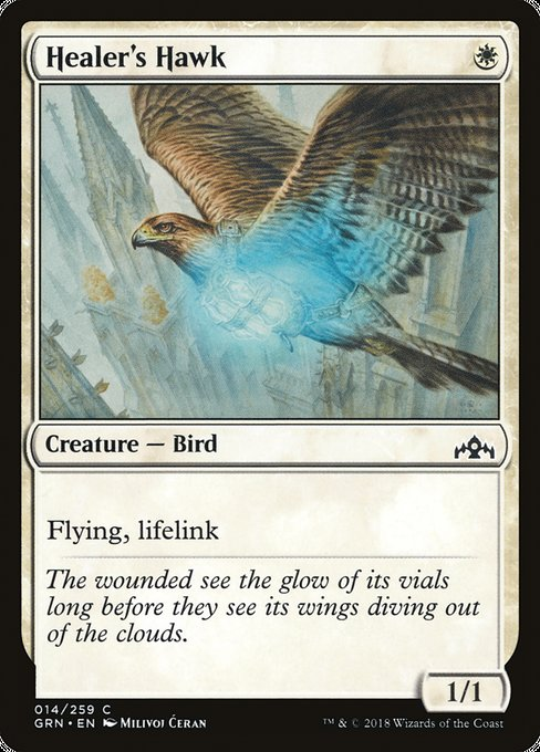 Healer's Hawk [Guilds of Ravnica]