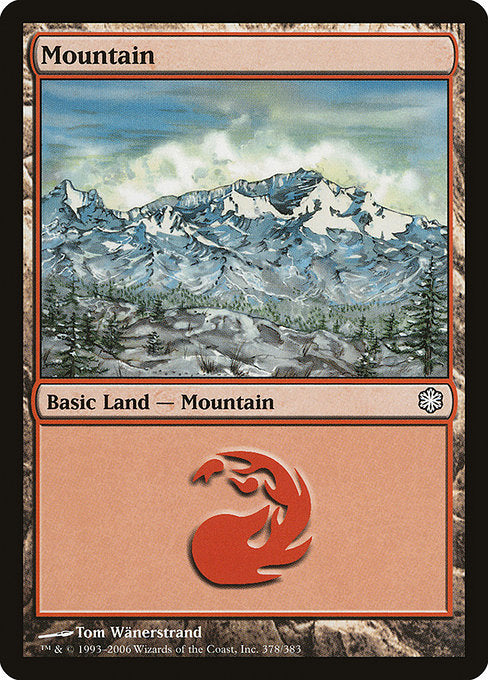Mountain [Coldsnap Theme Decks]