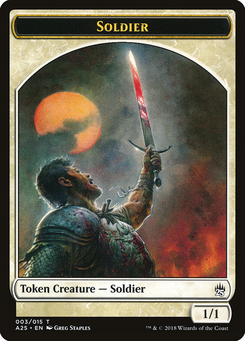 Soldier [Masters 25 Tokens] | Affinity Games