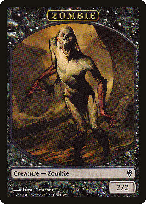 Zombie [Conspiracy Tokens] | Affinity Games