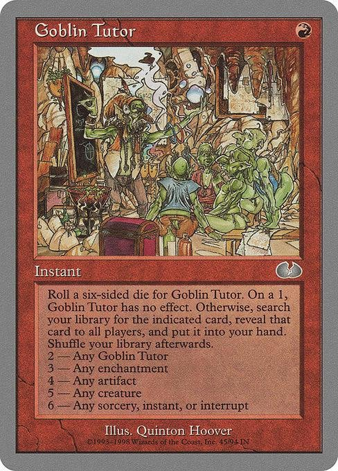 Goblin Tutor [Unglued]