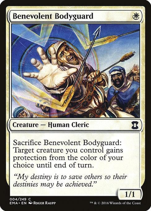 Benevolent Bodyguard [Eternal Masters] | Affinity Games