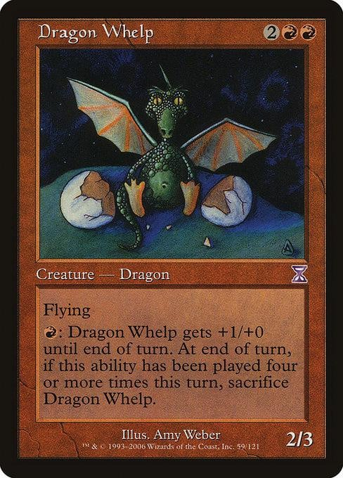 Dragon Whelp [Time Spiral Timeshifted] | Affinity Games