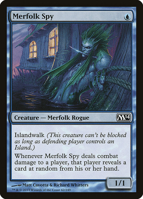 Merfolk Spy [Magic 2014]
