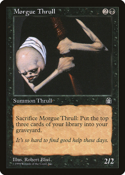 Morgue Thrull [Stronghold] | Affinity Games