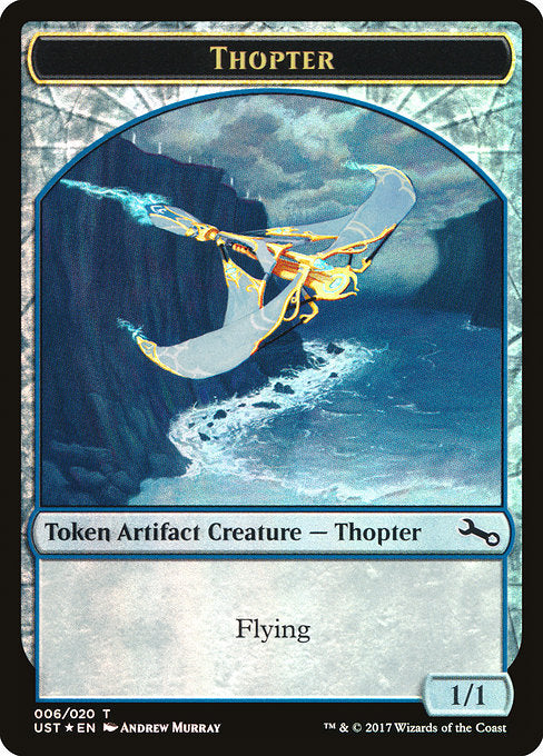 Thopter // Thopter [Unstable Tokens] | Affinity Games
