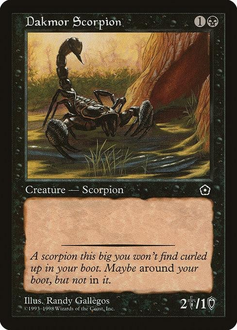 Dakmor Scorpion [Portal Second Age] | Affinity Games