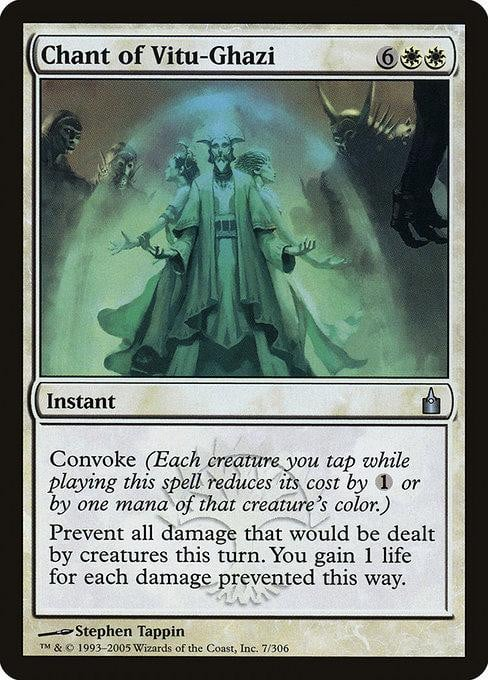 Chant of Vitu-Ghazi [Ravnica: City of Guilds]
