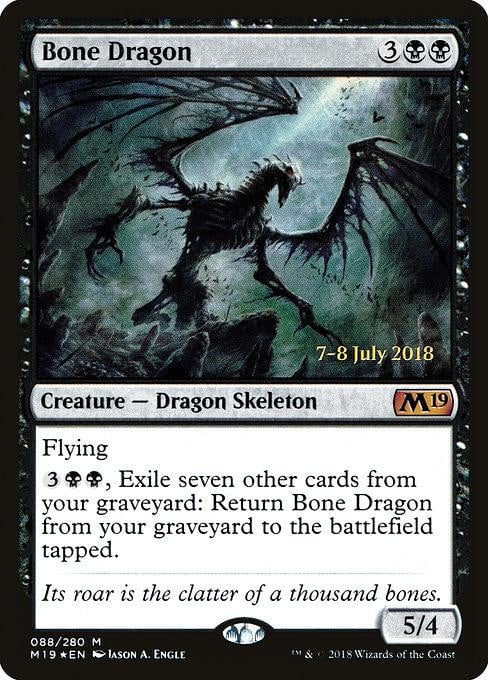 Bone Dragon [Core Set 2019 Promos]
