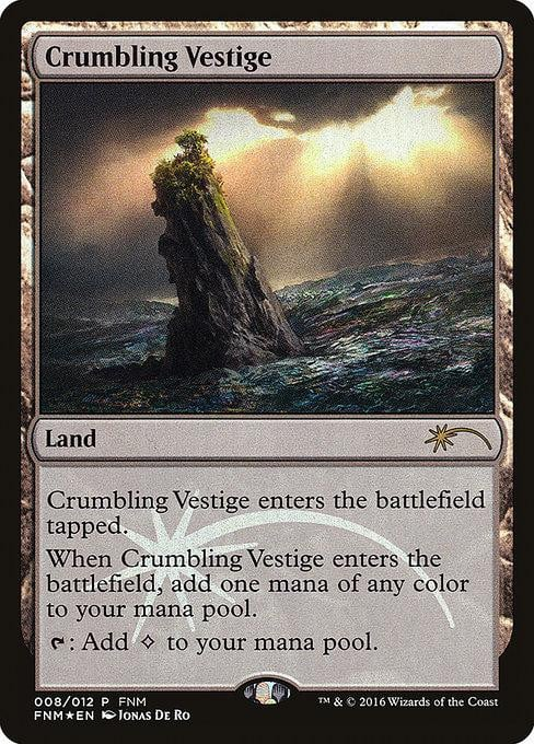 Crumbling Vestige [Friday Night Magic 2016] | Affinity Games