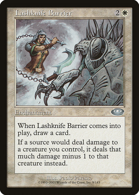 Lashknife Barrier [Planeshift] | Affinity Games
