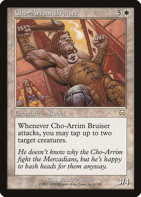 Cho-Arrim Bruiser [Mercadian Masques] | Affinity Games