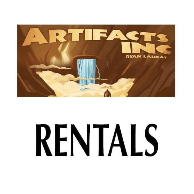 Artifacts Inc  - RENTAL